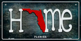 Florida Home State Outline Novelty Bicycle Plate BP-12000