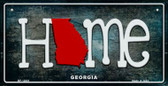 Georgia Home State Outline Novelty Bicycle Plate BP-12001