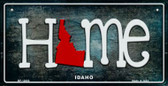 Idaho Home State Outline Novelty Bicycle Plate BP-12003
