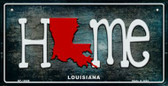 Louisiana Home State Outline Novelty Bicycle Plate BP-12009
