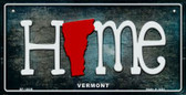 Vermont Home State Outline Novelty Bicycle Plate BP-12036