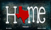 Texas Home State Outline Novelty Magnet M-12034