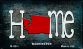 Washington Home State Outline Novelty Magnet M-12038