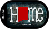 New Mexico Home State Outline Novelty Dog Tag Necklace DT-12022