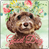 Cockapoo Good Dog Novelty Square Sign SQ-378