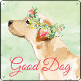 Lab Retriever Good Dog Novelty Square Sign SQ-396