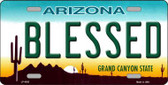 Blessed Arizona Novelty Metal License Plate LP-4262