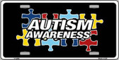 Autism Awareness Metal Novelty License Plate Sign LP-4669