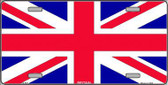 Britain Flag Metal Novelty License Plate LP-507