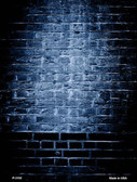 Blue Brick Wall Metal Novelty Parking Sign P-2192