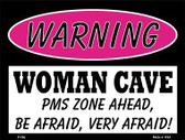 PMS Zone Ahead Metal Novelty Parking Sign P-766