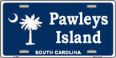 Pawleys Island Metal Novelty License Plate LP-5333