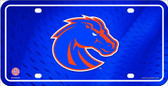 Boise State Deluxe Novelty Metal License Plate