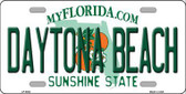 Daytona Beach Florida Novelty Metal License Plate LP-6003