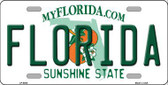Florida Novelty Metal License Plate LP-6005