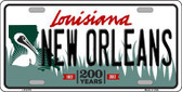 New Orleans Louisiana Novelty Metal License Plate