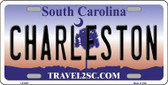 Charleston South Carolina Novelty Metal License Plate LP-6301
