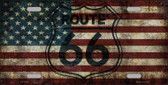 Route 66 American Flag Transparent