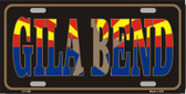 Gila Bend Arizona State Flag Metal Novelty License Plate