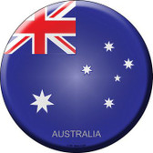 Australia Novelty Metal Circular Sign