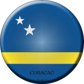 Curacao Country Novelty Metal Circular Sign