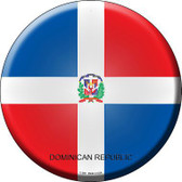 Dominican Republic Country Novelty Metal Circular Sign