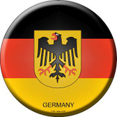 Germany Country Novelty Metal Circular Sign
