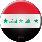 Iraq Country Novelty Metal Circular Sign