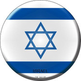 Israel Country Novelty Metal Circular Sign