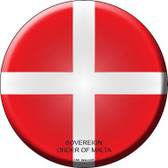 Sovereign Order of Malta Country Novelty Metal Circular Sign