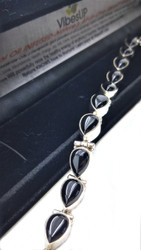 Onyx Raindrop All-in-One Bracelet