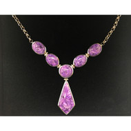 PURPLE CHAROLITE NECKLACE