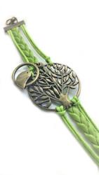 Tree Bird Bracelet