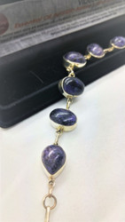 Purple Crown Charoite All-in-One Bracelet
