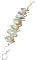 Moonstone CONDUCTIVE Silver Bracelet