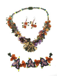 The Beaded Garden Jewelry set