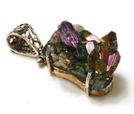 Purple Mountain Majesty CONDUCTIVE Silver Pendant