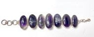 Amethyst Ovals CONDUCTIVE SILVER Bracelet
