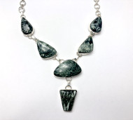 Seraphinite CONDUCTIVE SILVER Necklace