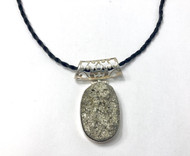 Pyrite Conductive Silver Pendants