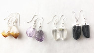 Vibrational Therapy Gemstone Earrings