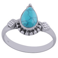 Peaceful Waters Turquoise Ring