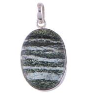 Swiss Opal Sterling Silver Pendant