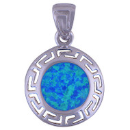 Shimmering Waters Sterling Silver Pendant