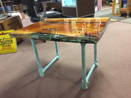 TURQUOISE VIBE TABLE
