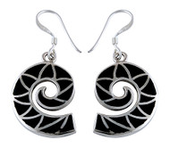 Crimson Waves Earrings