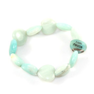Peace Heart Shaped 'Comfort' Bracelet