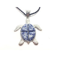 Love Our Earth Fancy Turtle Pendant