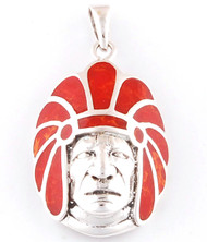 3D Native American Pendant