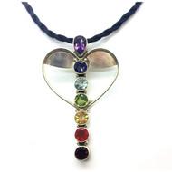 Winged Heart Chakra Pendant